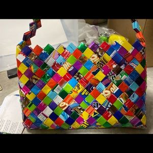 Bags - Candy Wrapper Hand Bag